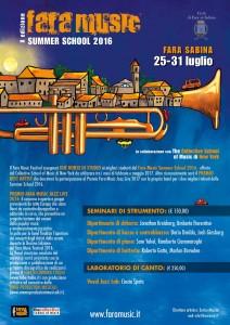 Fara Music Summer School 2016