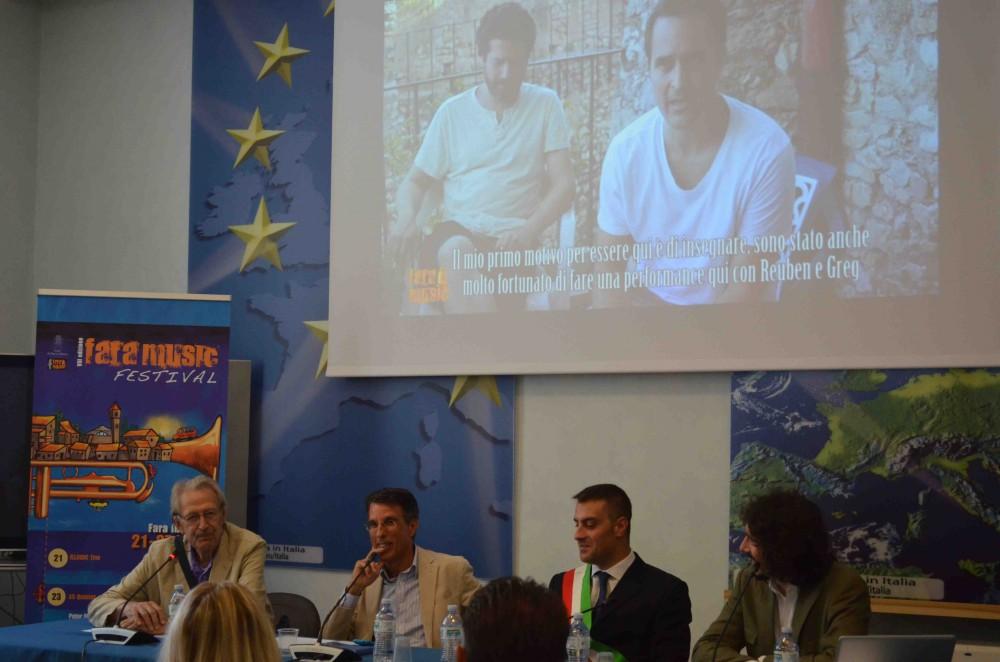 Conferenza Stampa Fara Music 2014