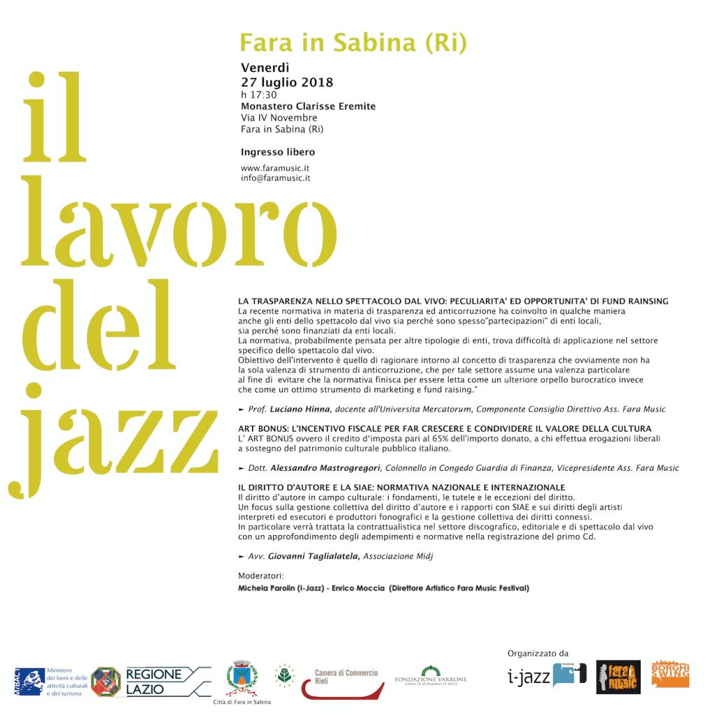 Il Lavoro del Jazz