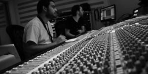 Mixing time... Che Fatica... Zadeno Trio at Tube Recording Studio.